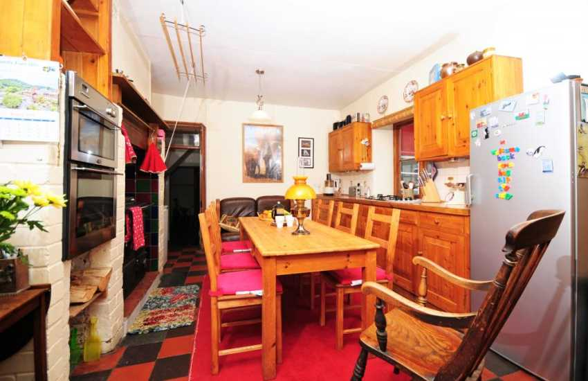 Holiday cottage rural Mid Wales - kitchen