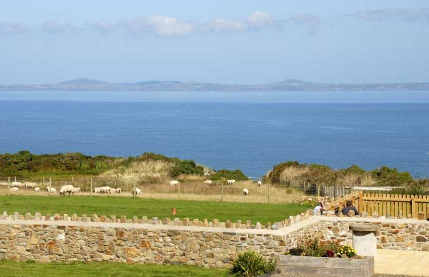 Dale holiday home with views over St Brides Bay