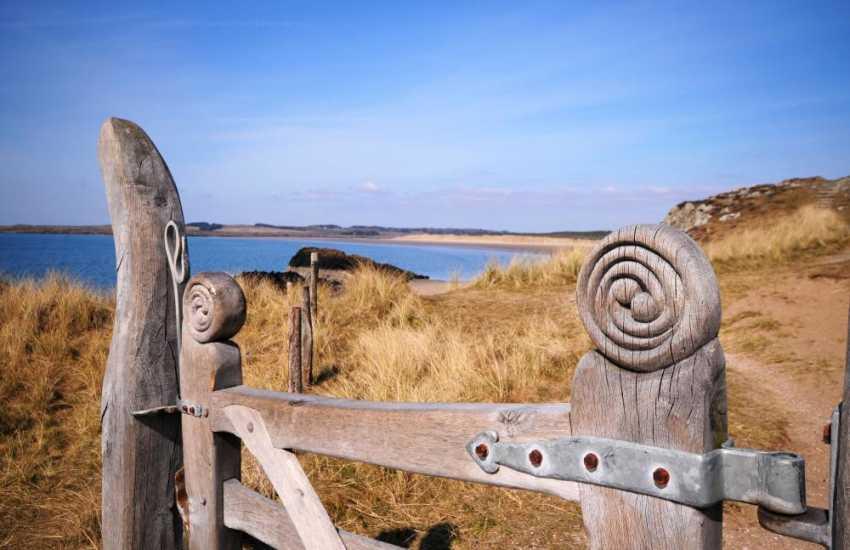 Newborough Warren and Llanddwyn beach on the Isle of Anglesey