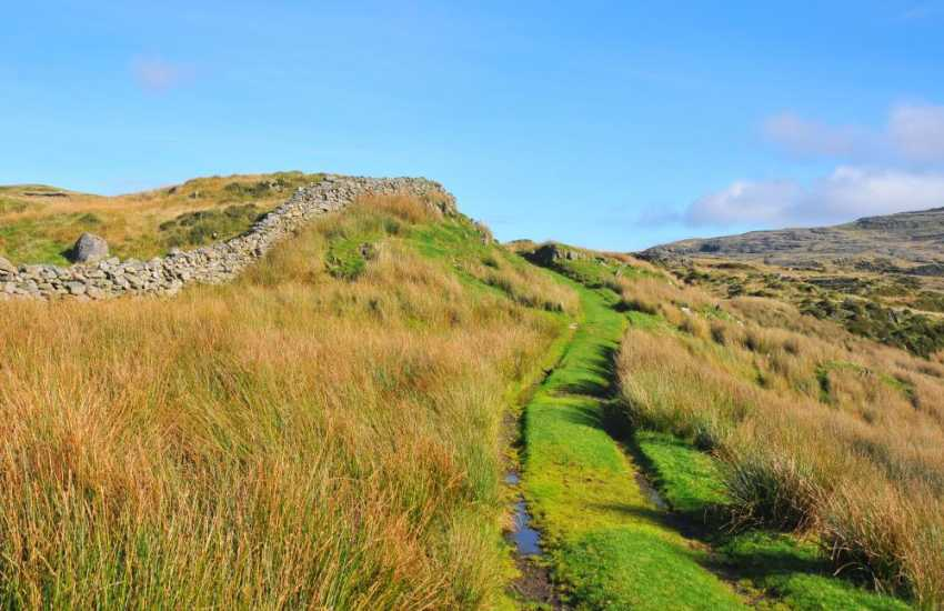 Footpaths in southern Snowdonia