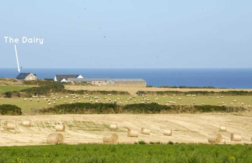 Marloes Sands restored holiday barn with sea views