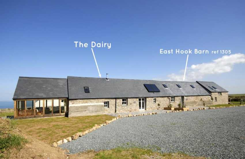 Marloes coastal holiday accommodation - The Old Stable, The Dairy and East Hook Barn