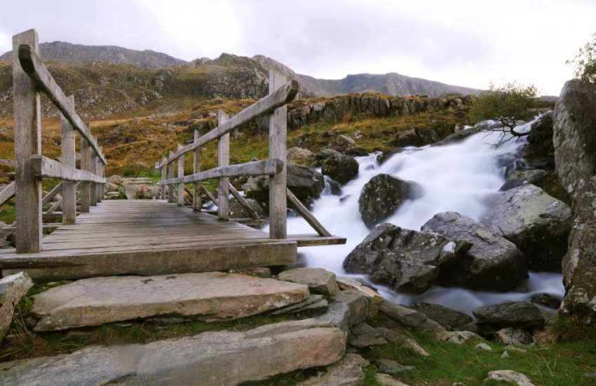 Cwm Idwal, Snowdonia, a walkers paradise