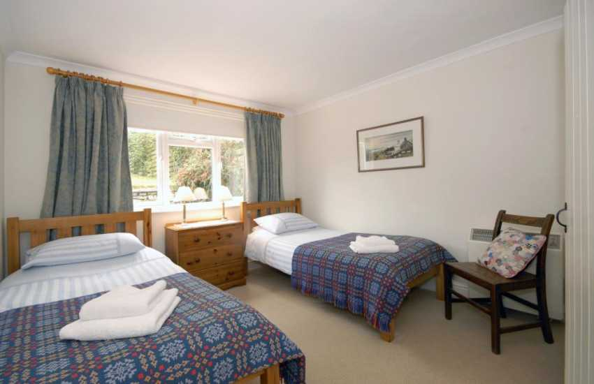 St Davids Pembrokeshire holiday cottage sleeping 4 - twin