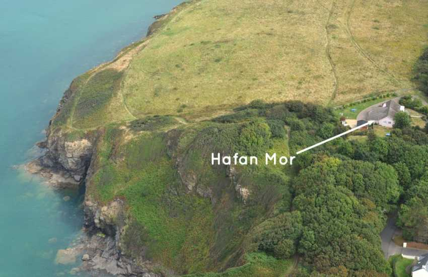 Little Haven holiday bungalow on the Pembrokeshire Coast Path