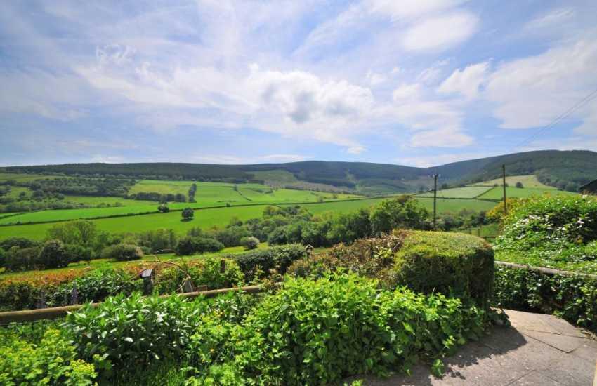 Presteigne holiday cottage - view