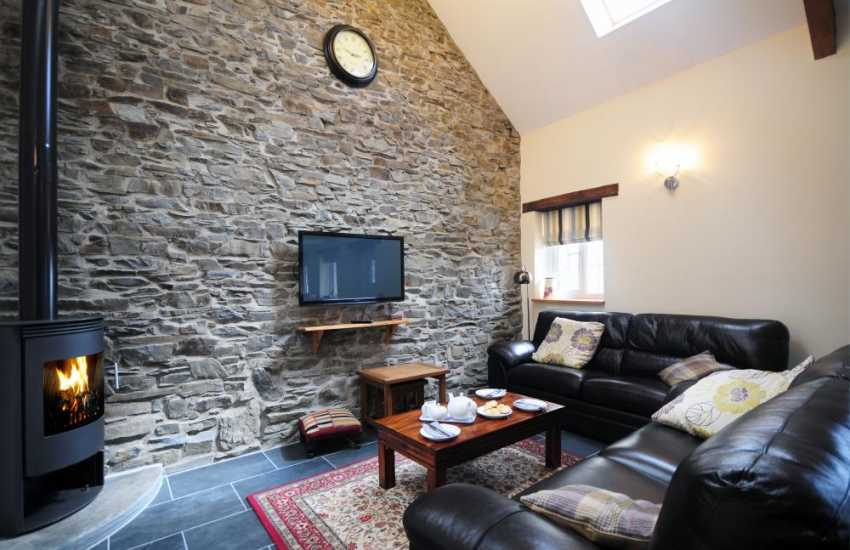 Cottage for 6 near Aberystwyth - lounge