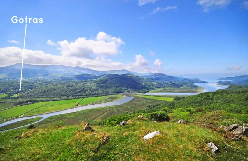 Mawddach estuary, a short drive away