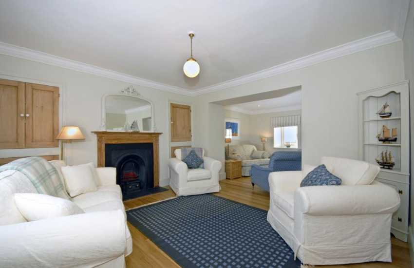 Self catering holiday house, West Wales - sitting room with Smart T.V.