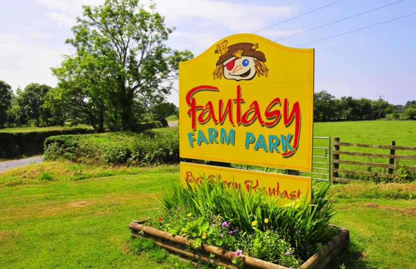 Fantasy Farm Park is situated in the heart of the beautiful Mid-Wales countryside, there are lots of animals to see at Fantasy Farm Park also tractor & trailer rides, pedal boats, go carts, crazy golf, an outdoor play area and indoor soft play area