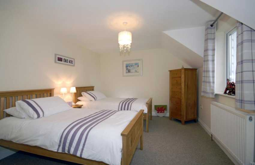 Pembrokeshire house for rent sleeps 7 - twin with views to Treffgarne Mountain
