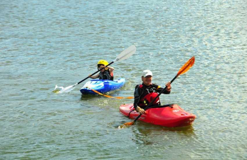 Explore the Pembrokeshire Coast by kayak