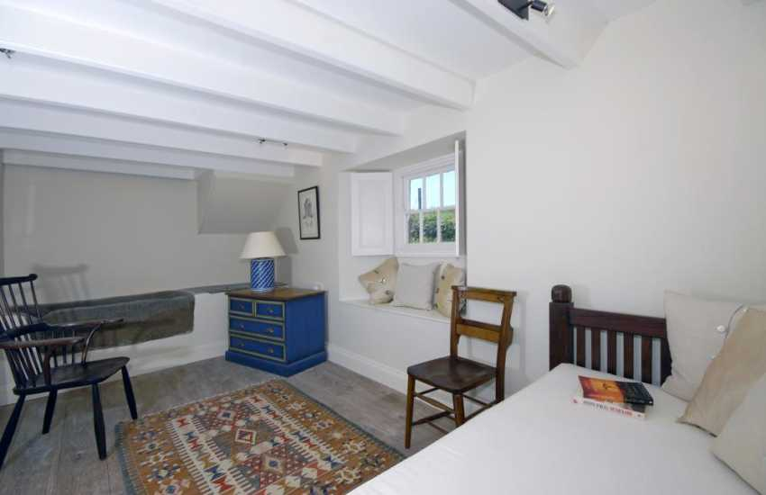 Coastal cottage Pembrokeshire - reading room with day bed