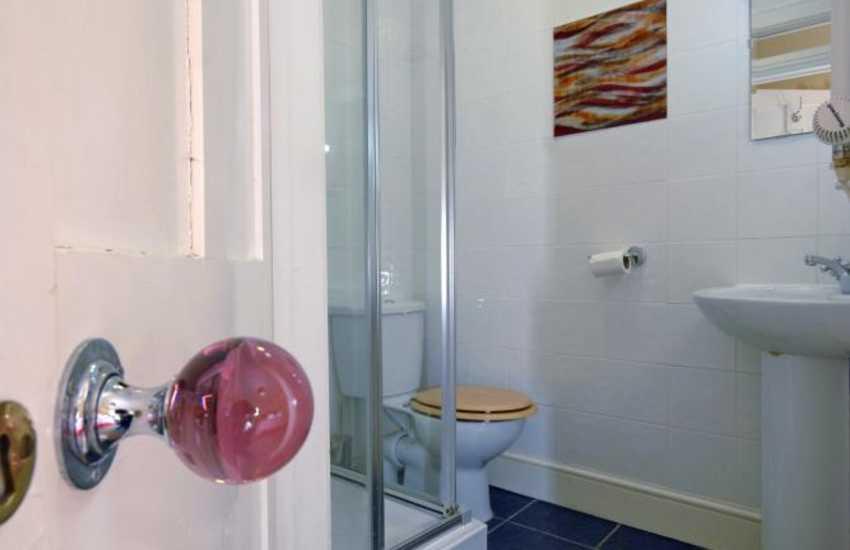 Pembrokeshire holiday home - double en-suite shower