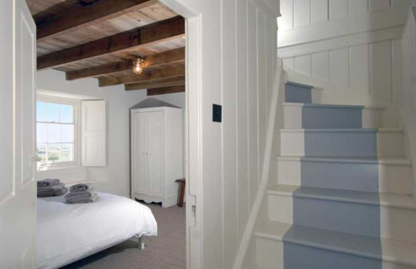 North Pembrokeshire restored Welsh cottage - stairwell
