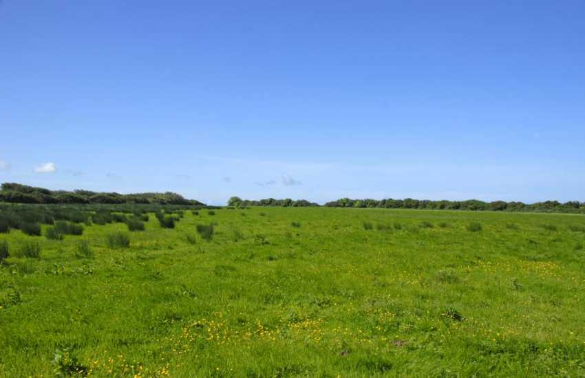 Nolton Haven holiday cottage with views across lush surrounding countryside