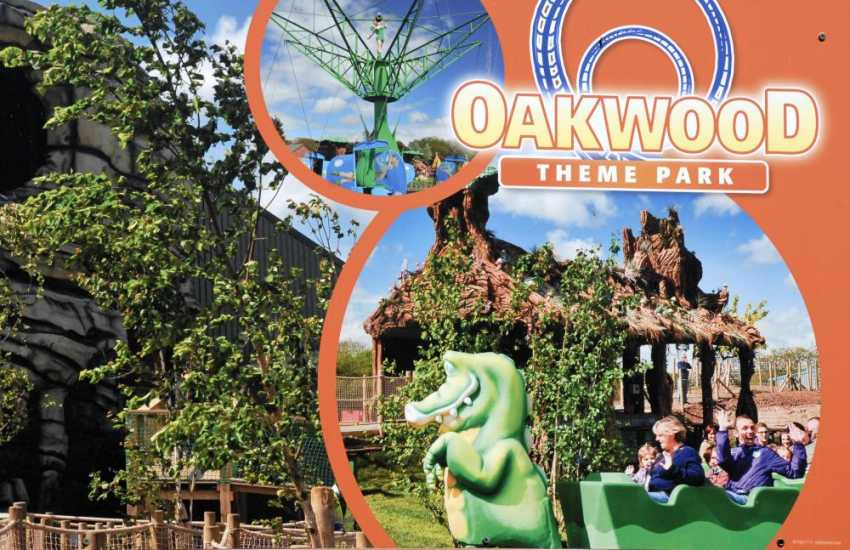 Folly Farm, Heatherton, Anna Ryder Richardson's Wild Welsh Zoo and Oakwood Theme Park are great days out