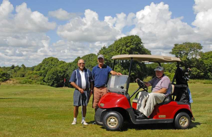 Pembrokeshire has a wide variety of championship golf courses to choose from