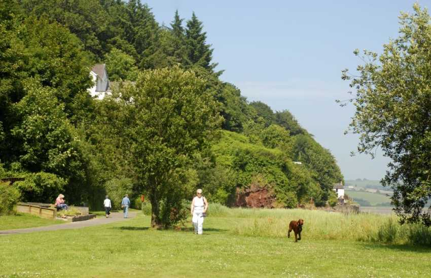 Laugarne Estuary is wonderful for dogs to have a good run - Many of our cottages welcome pets