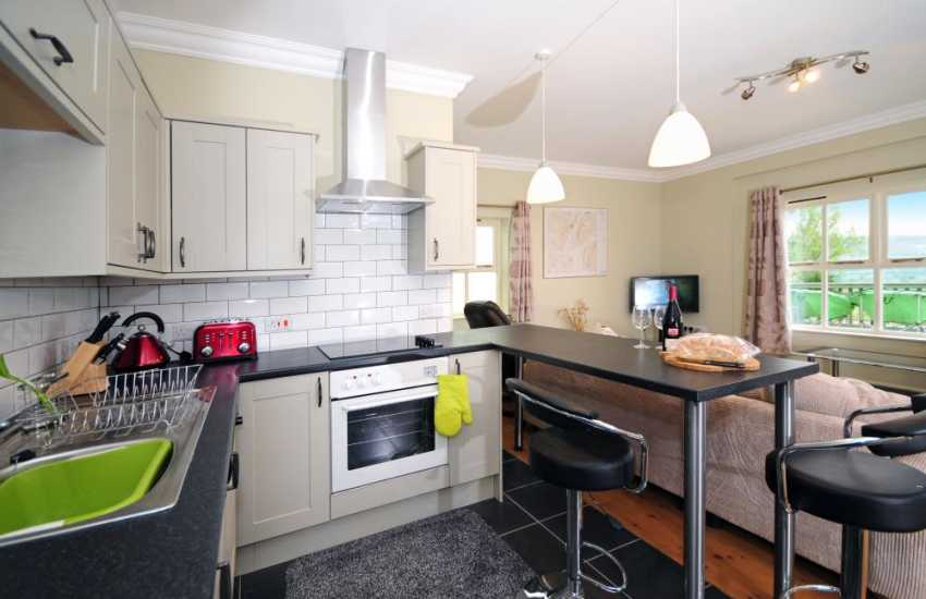Cottage for holidays near Welshpool - kitchen