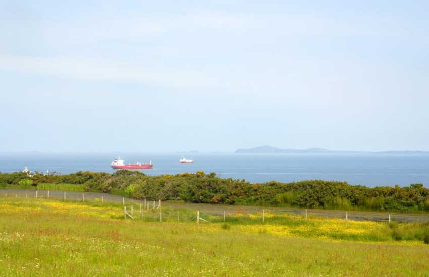 Enjoy the breathtaking and ever-changing panorama of the St David's Peninsula and St Brides Bay from the gardens