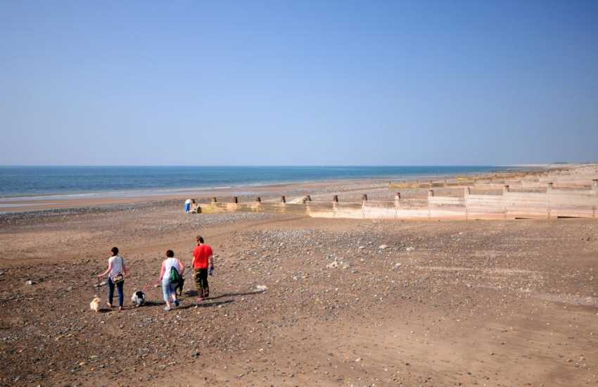 Tywyn beach and coastal walks