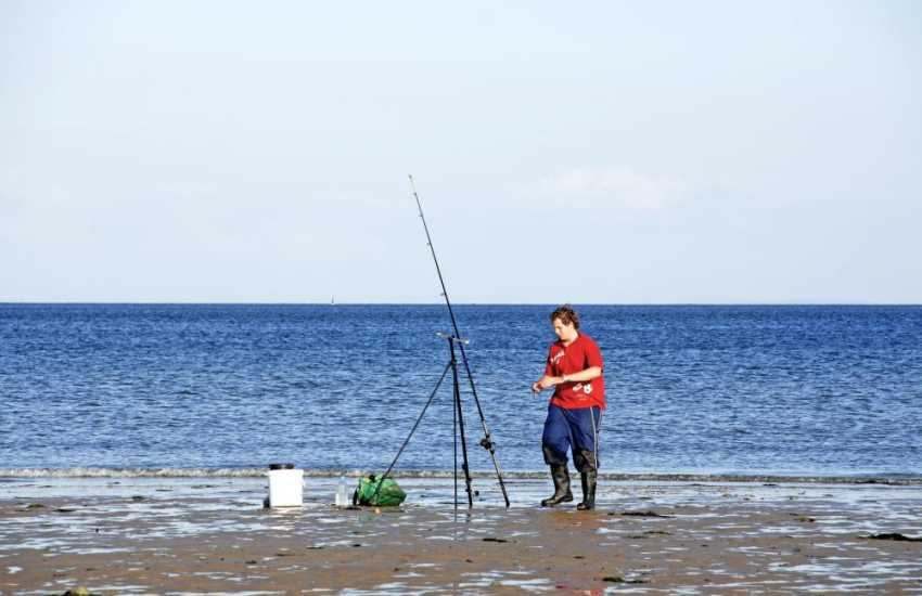 Shore fishing around St Davids is said to be some of the best in Wales