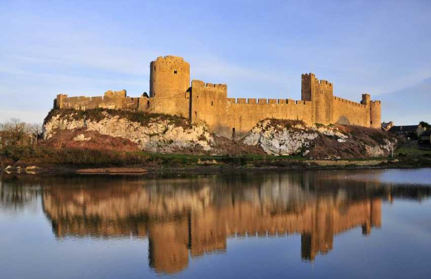 Birthplace of Henry VII Pembroke Castle is a medieval castle in Pembroke, West Wales. Standing beside the River Cleddau
