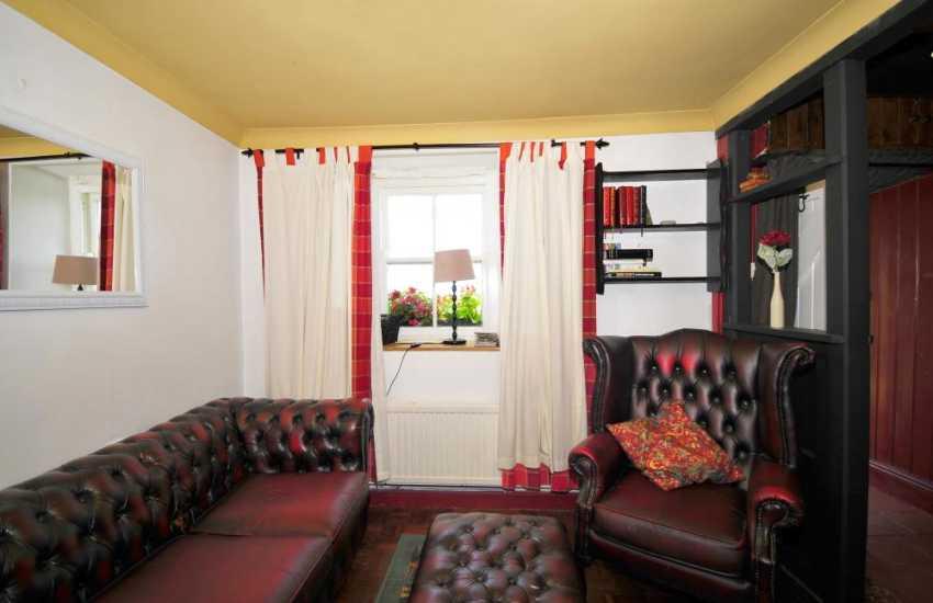 Farmhouse holiday home - sitting room
