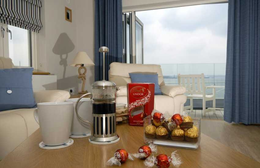 South Pembrokeshire apartment for romantic weekends away whatever the weather