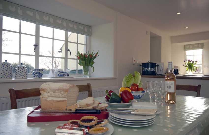 Whitesands Beach, St Davids family holiday home