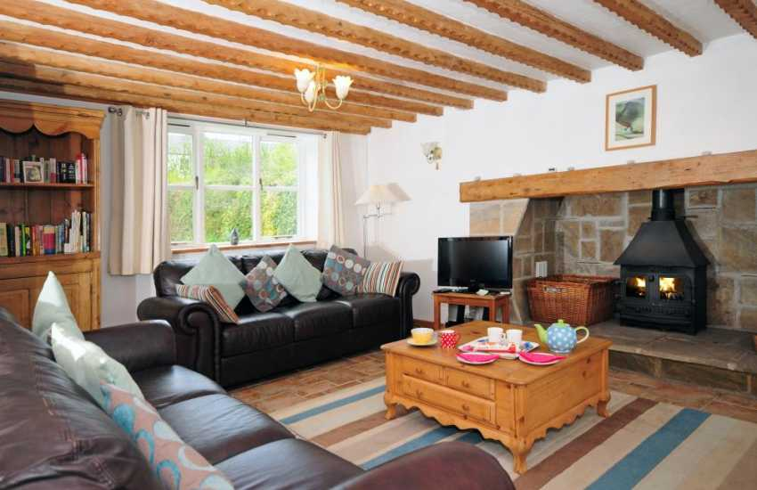 Luxury holiday Anglesey - lounge