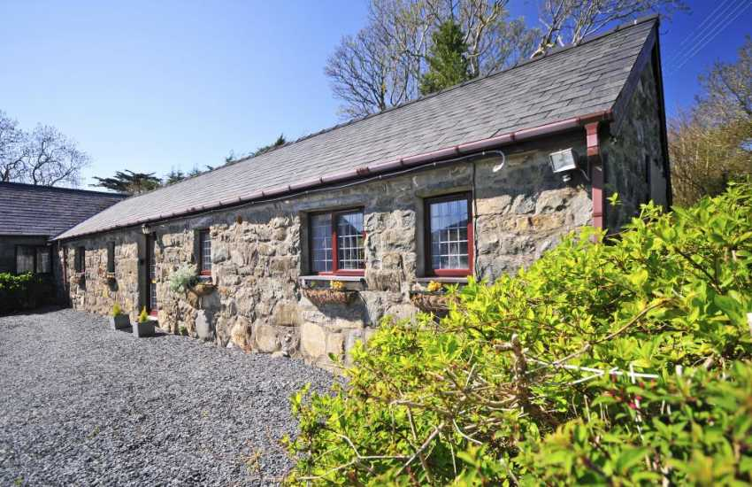 Coastal cottage North Wales - exterior
