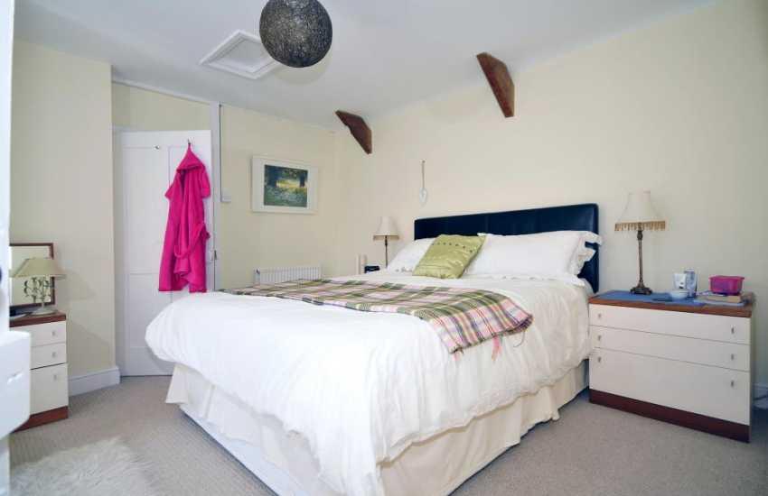Holiday cottage Llangrannog - bedroom