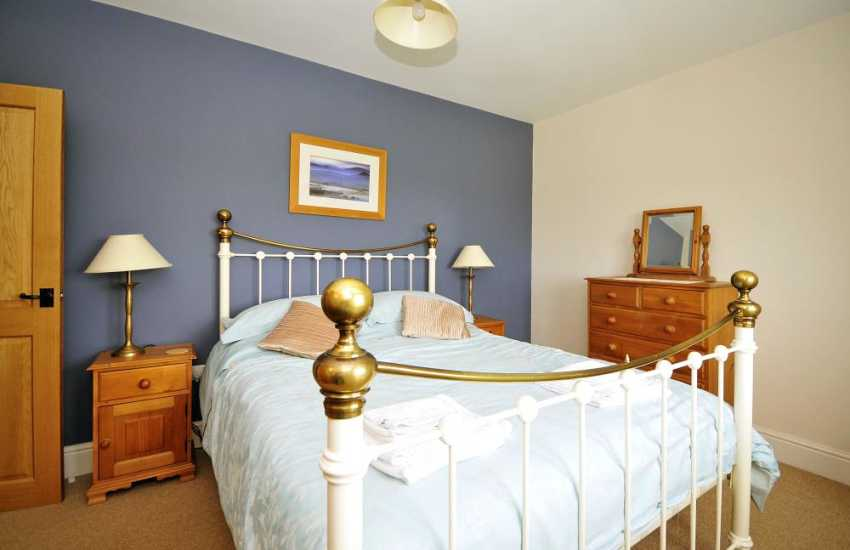 Welsh holiday farmhouse - double bedroom