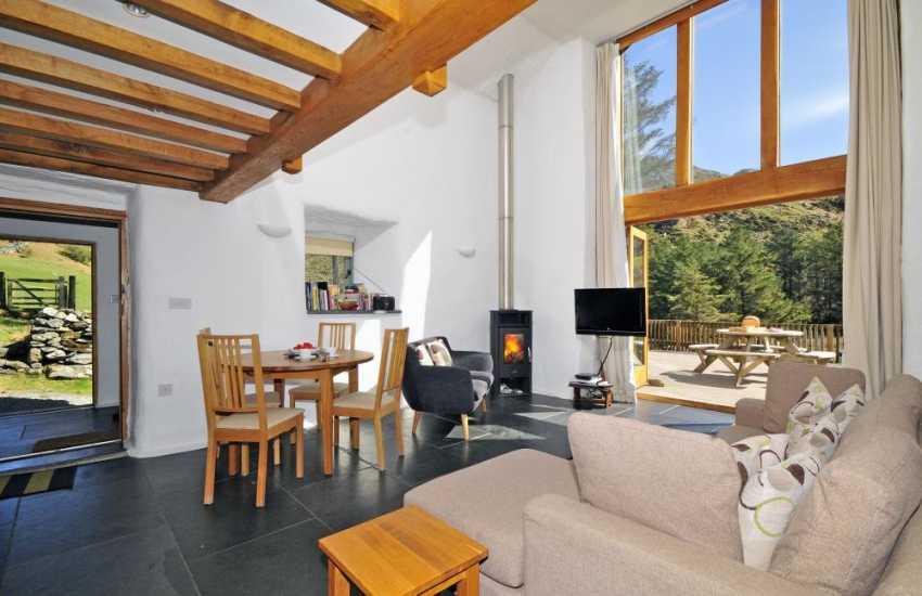 Snowdonia rural retreat - lounge