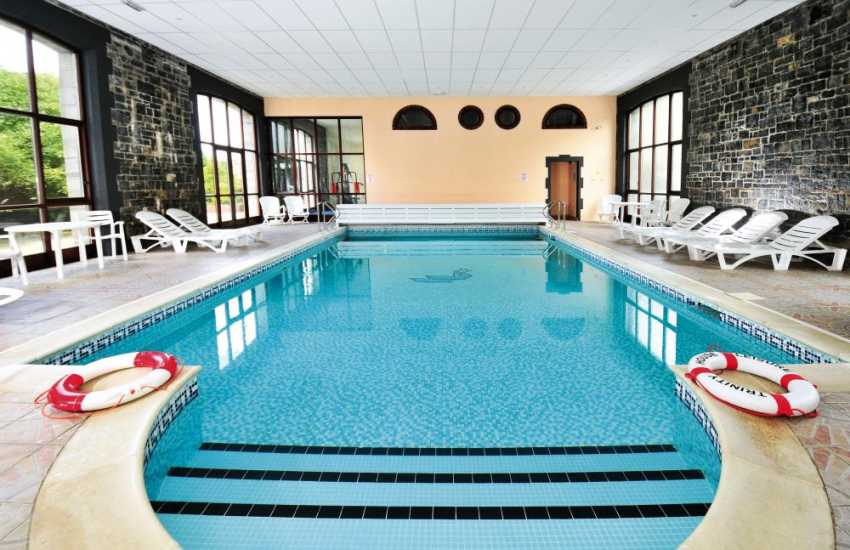 Holiday cottages Pembrokeshire Wales with indoor swimming pool