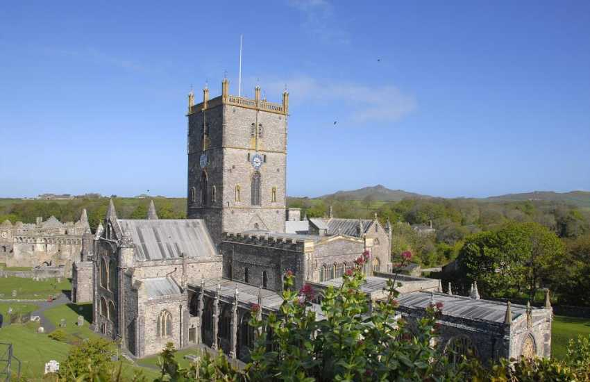 St Davids is Britain's smallest city with the magnificent Cathedral and ruined Bishops Palace