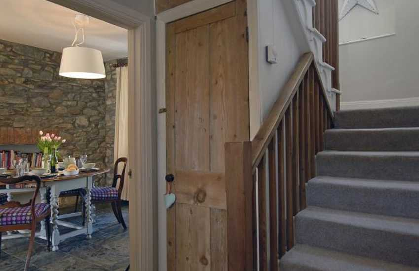 Cottage for rent in St Davids - hallway