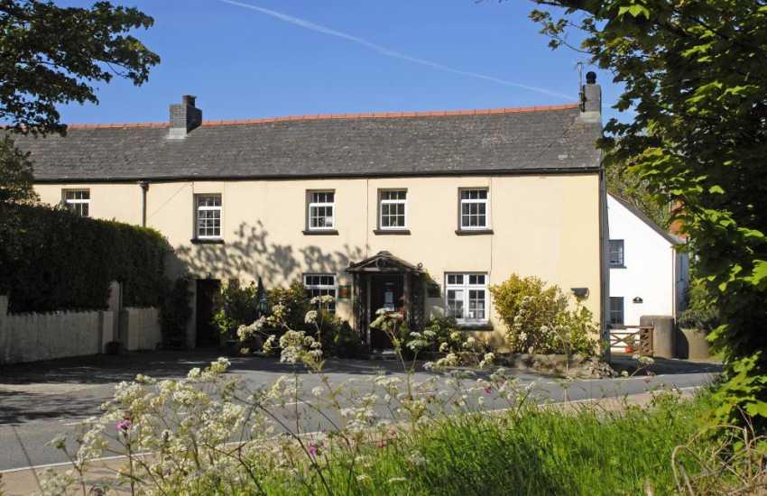 'Gwesty Bach' - the local pub in the hamlet of Castlemorris