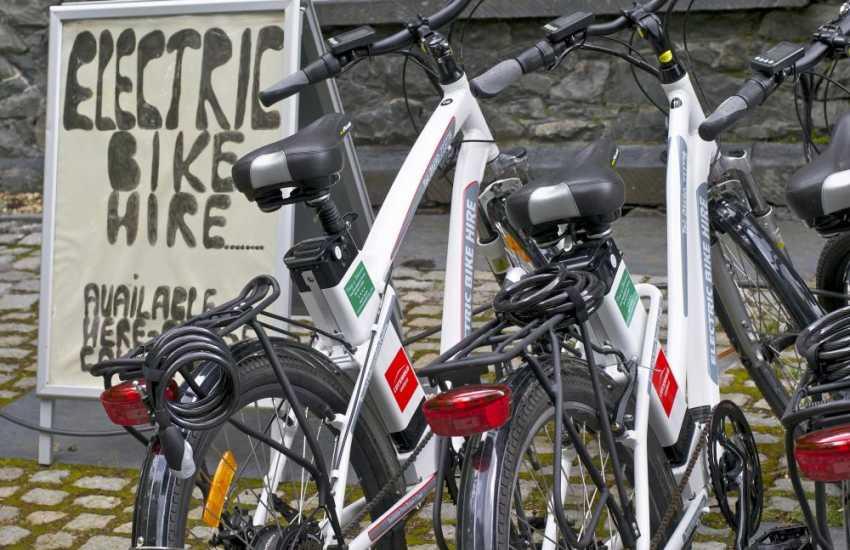 Explore Betws y Coed electric bike hire