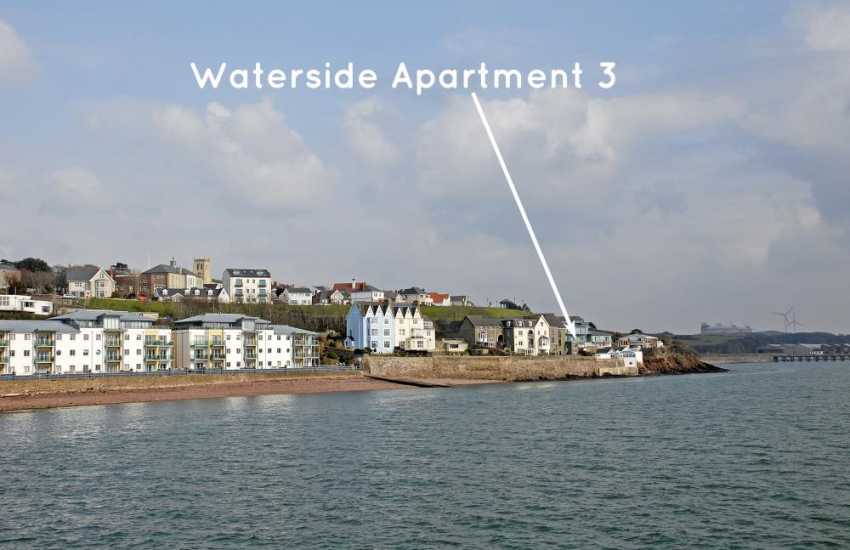 South Pembrokeshire luxury holiday apartment on the banks of the Haven Waterway