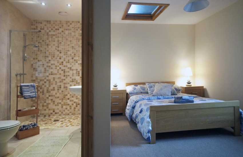 Luxury holiday house Lleyn Peninsula - bedroom