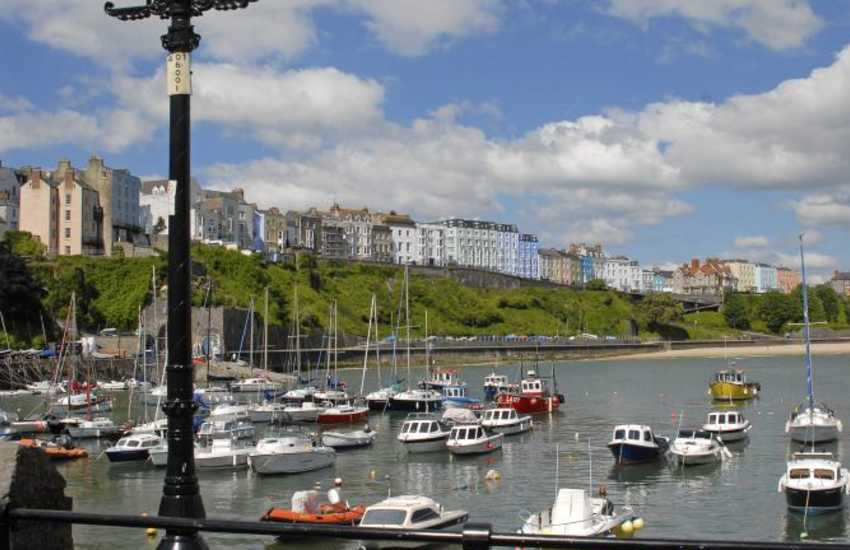 Tenby, with its picturesque harbour has five glorious sandy beaches to choose from