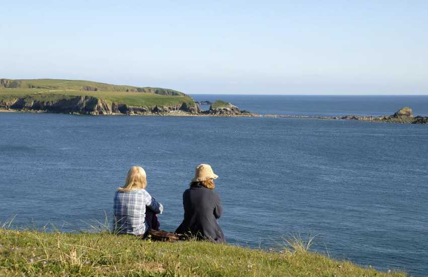 The Pembrokeshire Coast Path - a fantastic escape from the rush of today's modern world