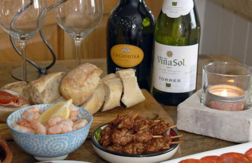 Try The Kings Arms in Pembroke for tasty Tapas dishes - perfect for sharing