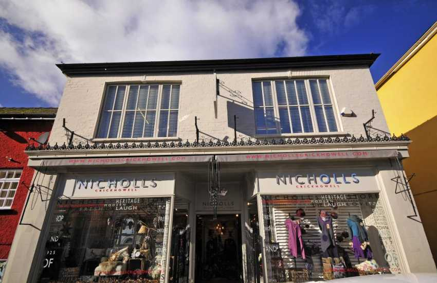 Browse Nicholls department stores in Crickhowell & Abergavenny