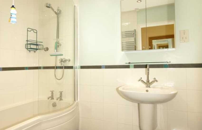Newport holiday home for rent - ground floor family bathroom