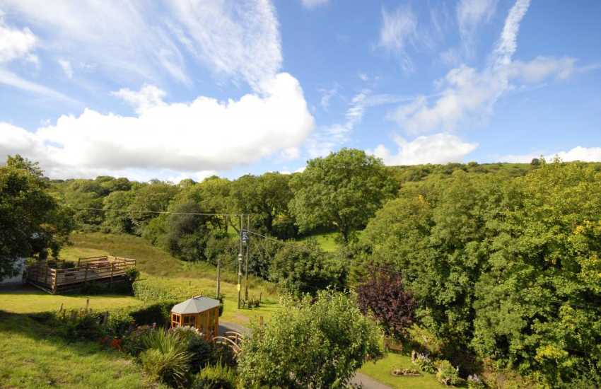 Enjoy fabulous panoramic views over the Gwaun Valley - a wonderful place to relax and unwind