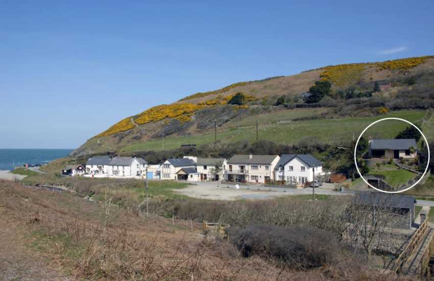 Coastal cottage in Wales for holidays by the sea